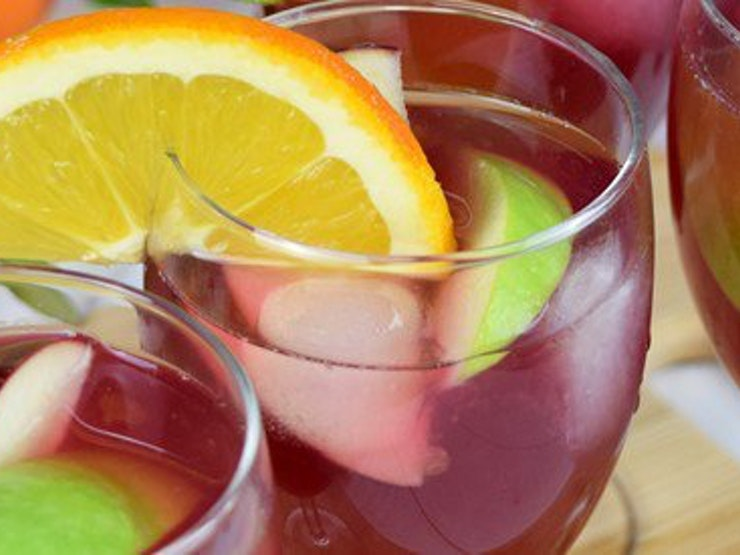 Sangria Mocktails