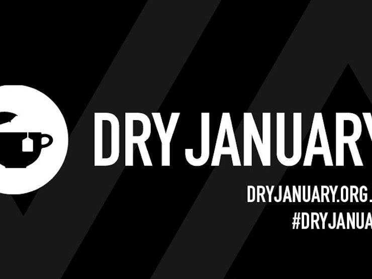 Dry January with web address