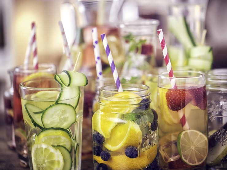 Infused Water With Fresh Fruits Istock 525338134