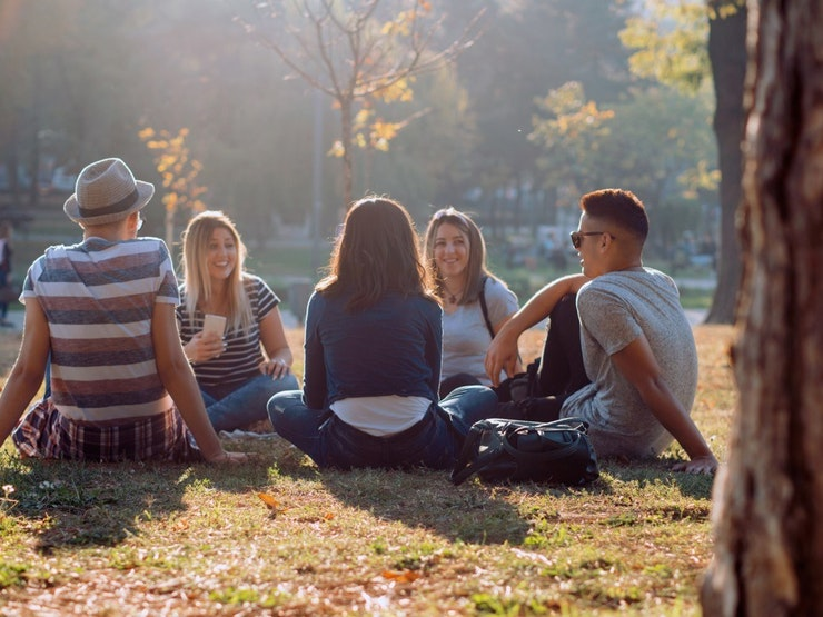 Park friends