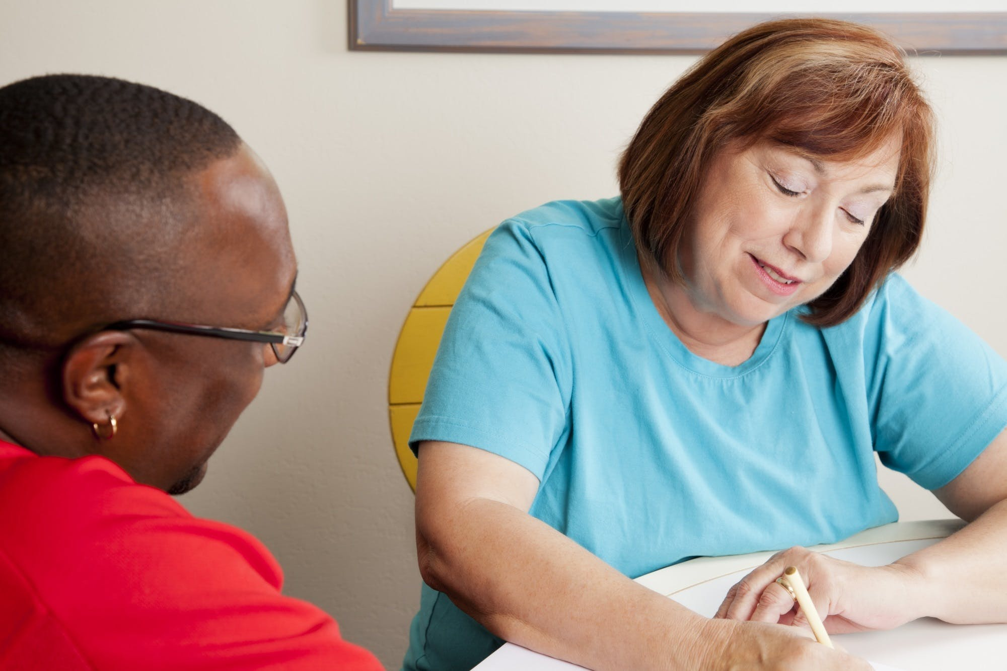 Social Worker Interviewing Client Istock 168267898