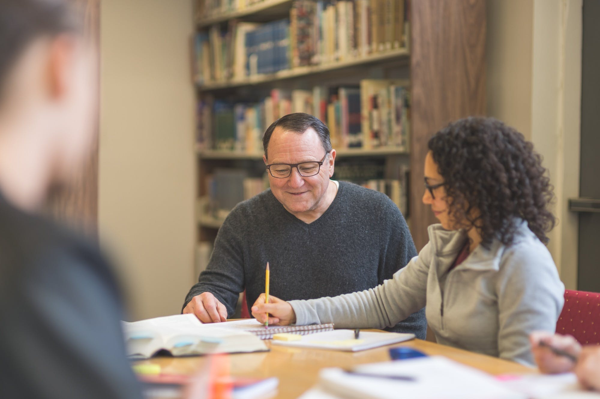 Study Session In Library Istock 846556004